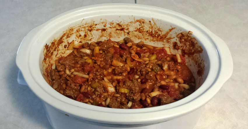 Bomb Slow Cooked Beef and 3-Bean Chili Recipe